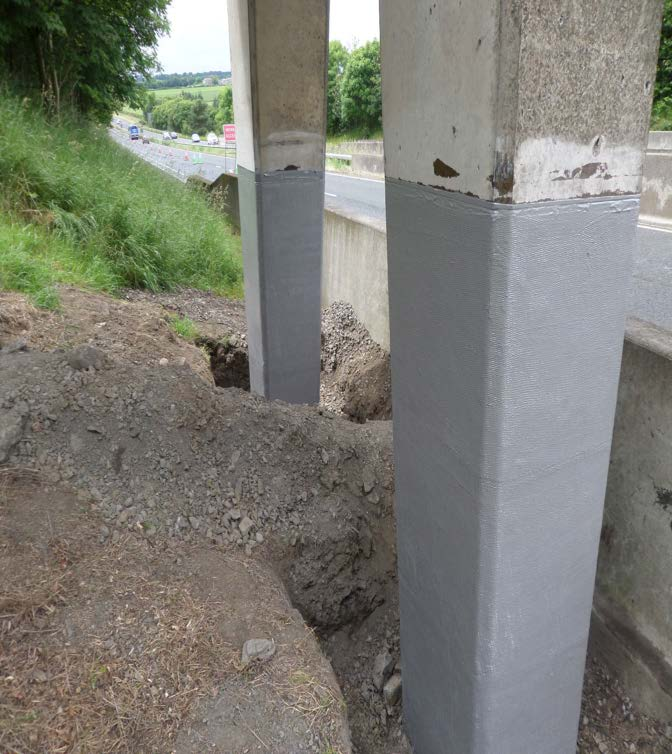 Column Repair and Strengthening - Northumberland