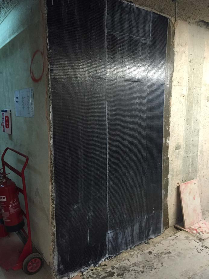 Shear Wall Strengthening For Hill House (Phase 2)