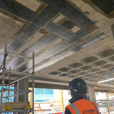 Carbon Fibre Strengthening of Slabs, Beams, and Shear Walls