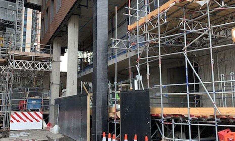 Column Strengthening Nine Elms, London