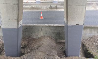 Concrete Repair And Strengthening On Redbridge Causeway