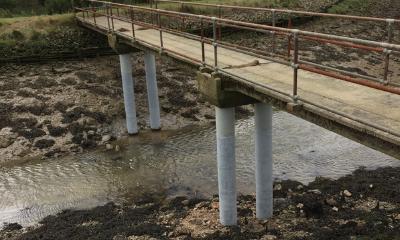 Repairs Take Place To Fix UK Bridges