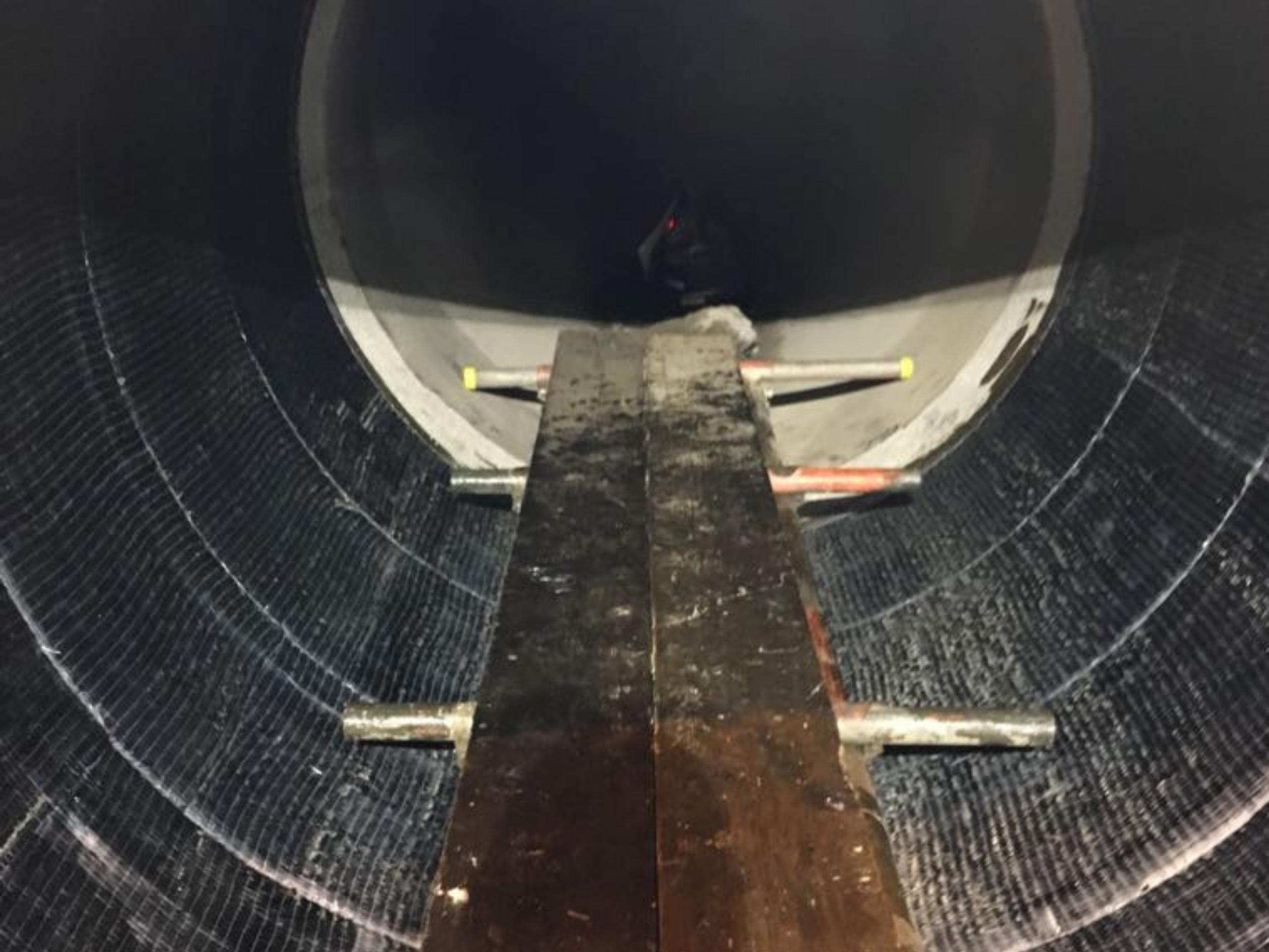Power Station Pipe Strengthening