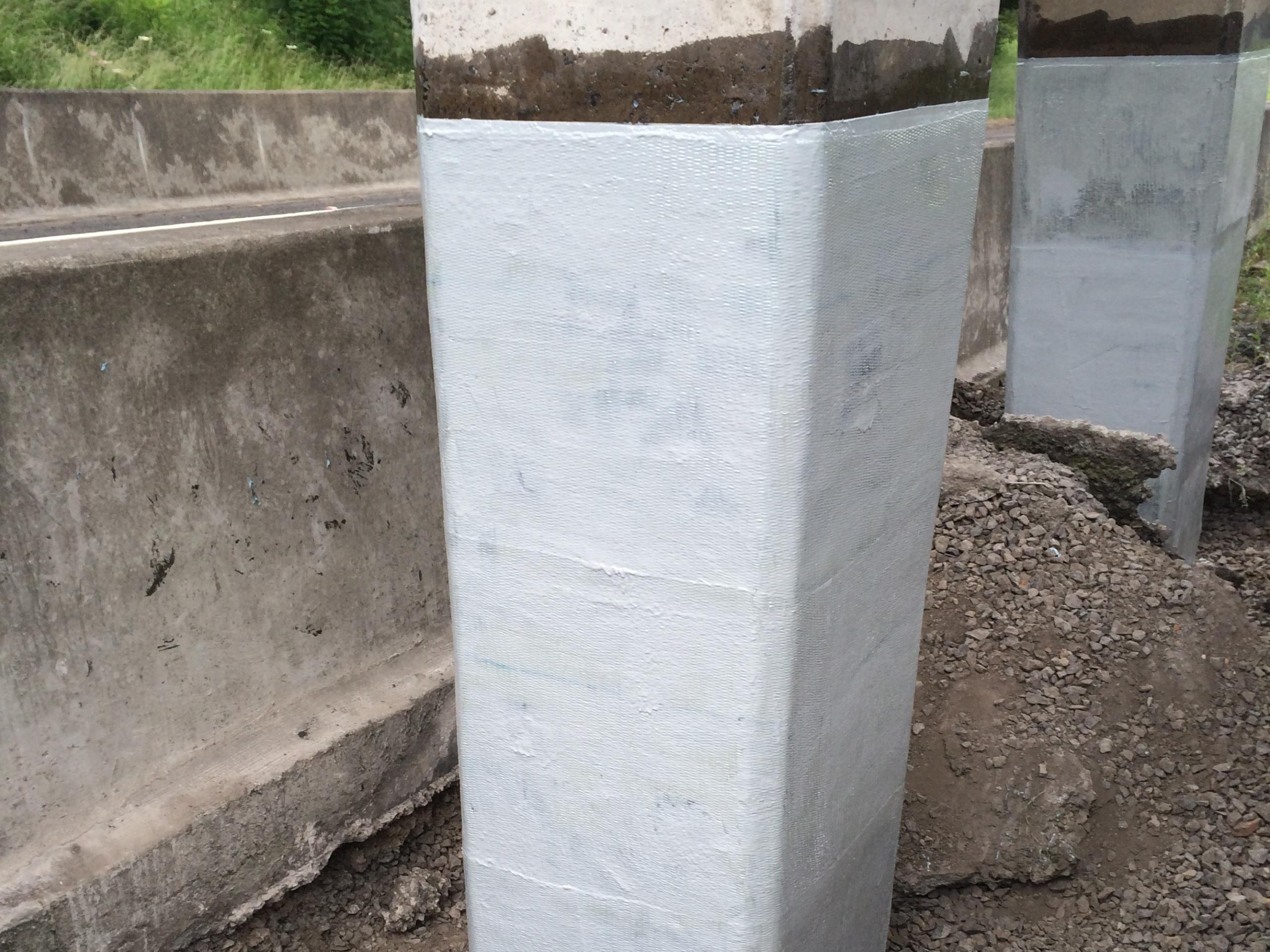 Column Repair and Strengthening - Northumberland