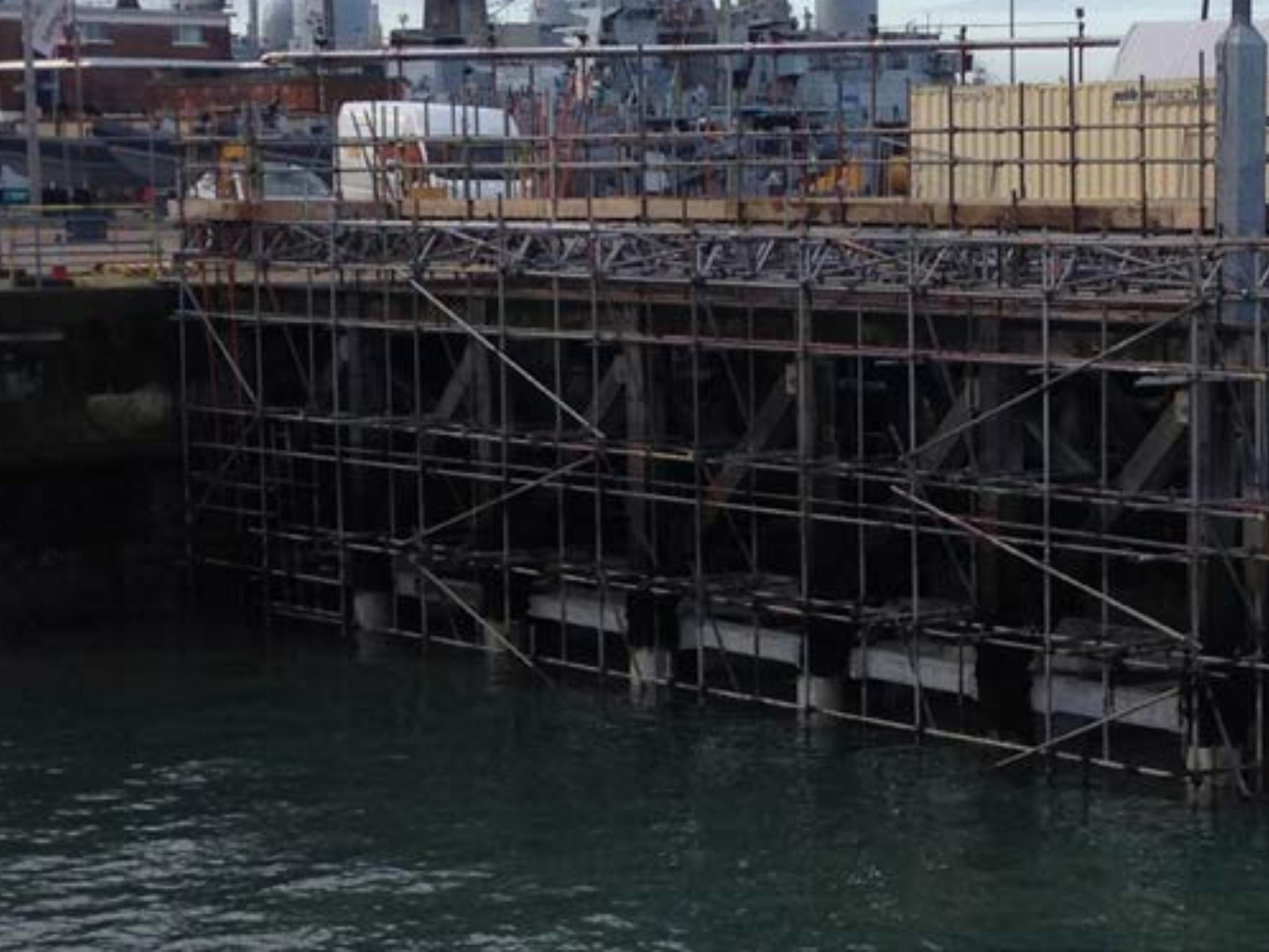 Wood Beam Strengthening – Finger Jetty Pier