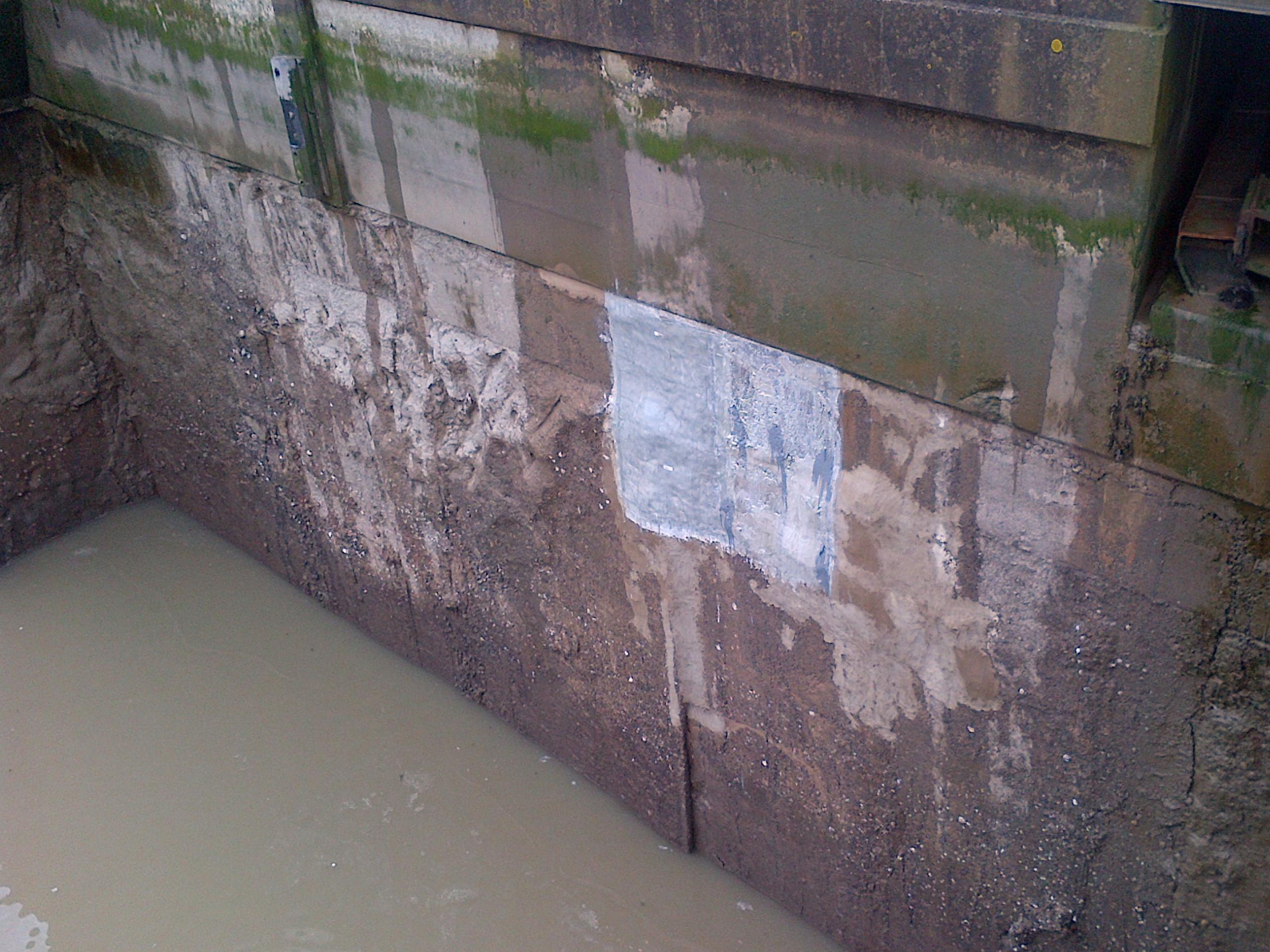 Concrete Repairs and Erosion Prevention – Stub Pier