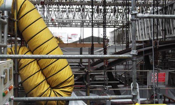 Beam Strengthening for Shear – Heysham Nuclear Power Station