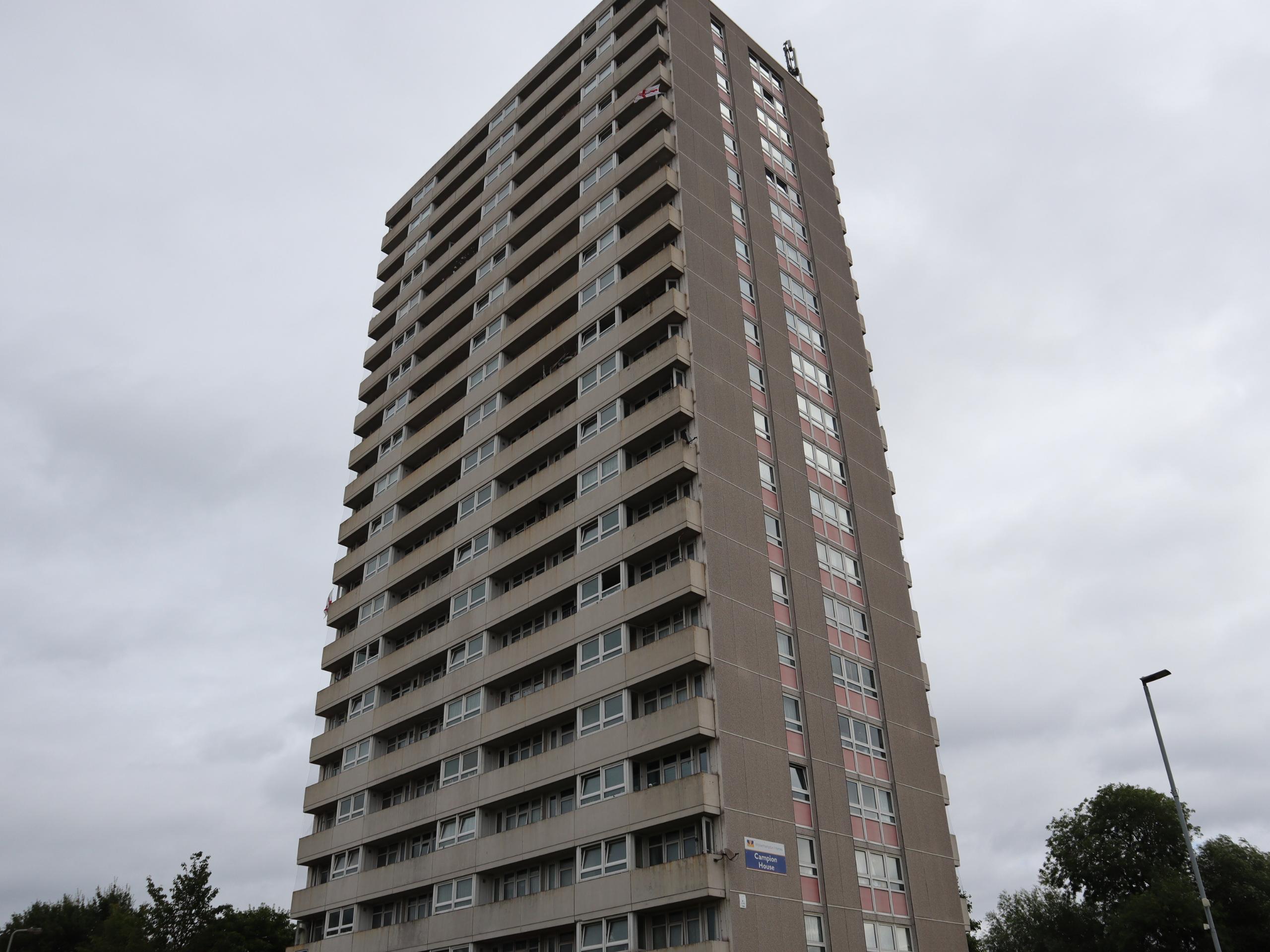 Wolverhampton Tower Blocks